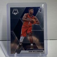 2019-2020 Mosaic Basketball Zion Williamson Rookie SP Jersey Variation. Pelicans