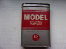 Vintage Model Pocket Tobacco Tin Vertical Original Advertising US Tobacco, LOoK.