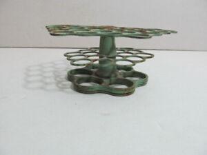 Vintage three tier metal flower frog