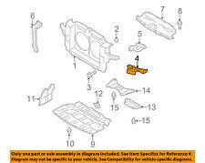 Infiniti OEM 08-12 EX35 RADIATOR SUPPORT-Headlamp Bracket LEFT 625651BA0A