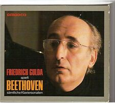 BEETHOVEN complete piano sonatas n°1-32 COFFRET 9 CD box gulda west germany