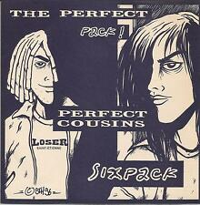 PERFECT COUSINS/SIX PACK Split SINGLE MEATIME RECORDS 1996 FRENCH PUNK ROCK