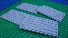 Lego Grey Base Plates Baseplates 6x10 City Star Wars Castle Kingdoms Space