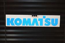 Komatsu sticker / decal A27 Reflective