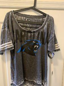 Carolina Panthers - Jersey Shirt - Women - Tie Dye / Acid Wash