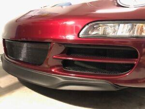 Porsche 911 997.1 Side And CENTER Radiator Grills Mesh Protectors 2005-2008