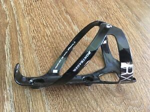 Bontrager RXL carbon water bottle cage, Race X Lite Trek XXX glossy black light