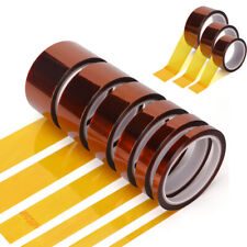 33m X 8mm Width Heat Resistant Tape Kapton Polyimide Insulation Thermal For Pcb