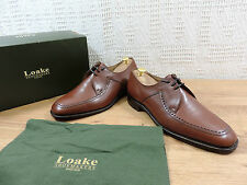 New Loake Men's Fontwell Brown Goodyear Welted  UK 11 G US 12 G EU 45 G wide
