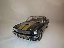 """LANE ExactDetail  Ford  Mustang  GT 350  (1966)  """"gold/schwarz"""" 1:18 ohne Vp.!"""