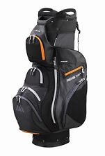 Big Max Cartbag - Dri Lite PRIME - wasserdicht - charcoal/black/orange, Neuheit!