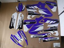 FLU DESIGNS PTS3 TEAM GRAPHICS YAMAHA WR250F WRF250 WR450F WRF450   2003  2004