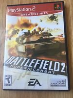 Battlefield 2 Modern Combat PS2 Sony PlayStation 2 Cib Game XP1