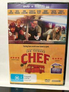 Chef DVD Brand New Sealed in plastic,  Region 4 Aust. - Jon Favreau - Free Post