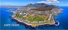 Kapstadt Cape Town Foto Magnet Epoxid Südafrika Tafelberg Souvenir,12x5 cm,Neu