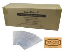 1000 GuardHouse Round Corner  2X2  Plastic Coin Flips - NON PVC - #9854283