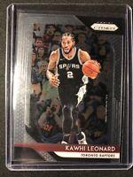 2018-19 Panini Prizm Basketball Kawhi Leonard #53 Raptors