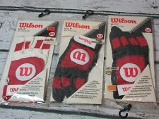 VINTAGE Wilson MVP SERIES Batting Glove ADULT Men's Medium Left Hand (lot of 3!)