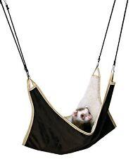 6913 Trixie Pet Rat Suspendu Hamac Cage Lit Vert Ou Marron 45 x 45 cm