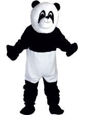 Géant Panda Mascotte Luxe Adulte Combinaison Tête Pied Mains Costume Déguisement