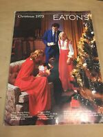 Eaton's Catalog Christmas 1975, Vintage 70's Products Catalouge SH3