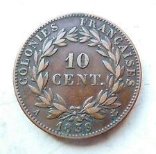 LOUIS-PHILIPPE - COLONIES 10 centimes 1839 A