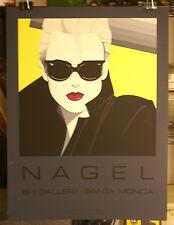 Patrick Nagel   Mirage -Dumas 1985  Commemorative NC #5 Serigraph