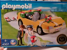 Playmobil 4307 Convertible  With Wedding Couple