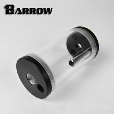 Barrow Clear Acrylic Water Tank Inline Reservoir 135mm x 65mm Water cooling