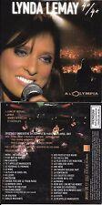 DVD CARDSLEEVE COLLECTOR LYNDA LEMAY 40/40 OLYMPIA CONCERT INEGRAL + BONUS
