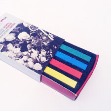 Cone Crayon Matchbox Set - 4 Assorted Primary Colours