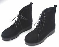 JEFFREY CAMPBELL WOMAN WINTER POLISH ANKLE BOOTS BOOTIES LEATHER CODE SAKURA
