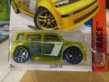 -Hot Wheels Scion xB HW Race Yellow