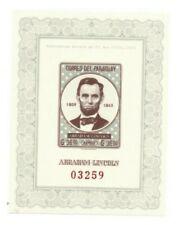 Special Lot Paraguay 1963 C313 - Abraham Lincoln - 15 Souvenir Sheets - Imperf