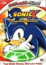 Sonic X: Chaos Emerald Chaos (DVD 2 Episodes, Thin Jewel Case)Ships in 12 hrs!!!