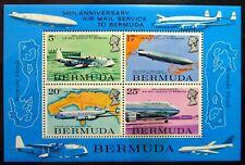 BERMUDA 1975 Airmail Service M/Sheet MS334 U/M NJ520
