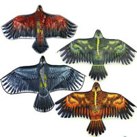 Free shipping New 1.2m Eagle Kite single line animal Kite with handle For kids