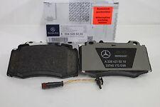 Genuine Mercedes-Benz W211 E-Class FRONT Brake Pads and Sensor A0064203220 NEW!