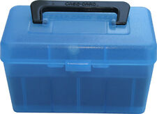 NEW! MTM H50-R-MAG-24 Deluxe 50-Round Rifle Ammo Case Box 300 Win Mag  H50RMAG24