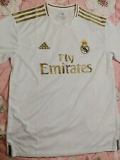 BNWT Adidas Climalite Real Madrid C.F. 2019/20 White Home Jersey Size Men Medium