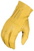 Klim Mens Tan Rambler 626 Scrambler Motorcycle Gloves