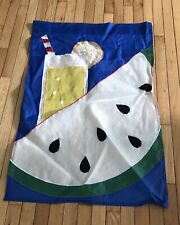 Watermelon & Lemonade Summer Yard Flag