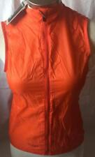 New Giro Women's New Road Wind Vest XS X-Small Orange Cycling Bike Lightweight