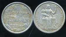POLYNESIE francaise 1 franc 1965  ( 1 )