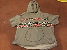 Parish nation men's short sleeve hoodie gray 4xl big and tall