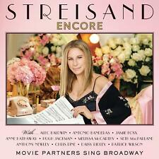 Barbra Streisand ‎– Encore: Movie Partners Sing Broadway (2016)  CD Deluxe  NEW