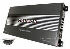 CRUNCH PZA1500.1 POWER ZONE 1500W MONOBLOCK CLASS AB 1 CHANNEL CAR AMPLIFIER