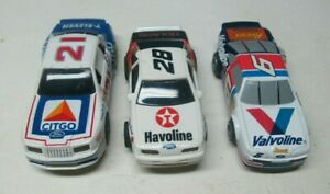 3 Different 1990's Tyco Slot Cars Lot #2 No Reserve
