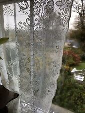 """Fearnley Design Scottish Cotton Lace Curtain yardage off roll 54"""""""