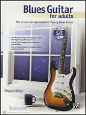 Blues Guitar for Adults TAB Book/CD Learn How to Play Method for Beginners